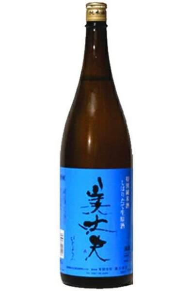 美丈夫 定番スタイル 特別純米酒 しぼりたて生原酒 再再販 1800ml 2020年11月詰