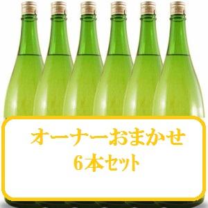 【大好評】【竹】日本酒 オーナーおまかせ6本セット【1800ml×6】】