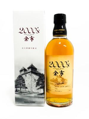 シングルモルト余市2000'S【ニッカ】原酒 500ml【2000-2009原酒使用】