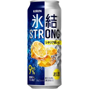 长颈鹿Chu-Hi结冰强壮西西里岛生产柠檬500ml*24罐(1箱)