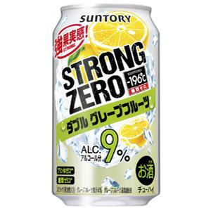 三得利Chu-Hi-196度強壯零雙西柚350ml*24罐(1箱)