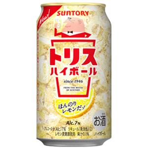 Suntory TRIS highball 350 ml x 24 cans (1 case)