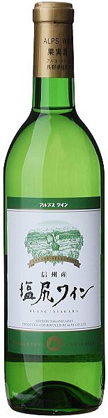 [ワイン]★送料無料★※12本セット アルプスワイン 塩尻ワイン 白 720ml 12本 (国産)(株式会社アルプス)