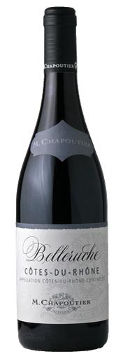 [ワイン]2ケースまで同梱可★シャプティエ コート デュ ローヌ ベルルージュ 赤 750ml 1ケース12本入り (フランス)
