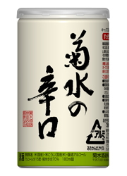 [清酒・日本酒]3ケースまで同梱可☆菊水の辛口 アルミ缶 180ml 1ケース30本入り 菊水酒造