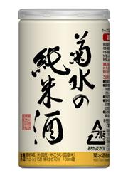 [清酒・日本酒]3ケースまで同梱可☆菊水の純米酒 アルミ缶 180ml 1ケース30本入り 菊水酒造