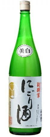 清酒 日本酒 9本まで同梱可 ギフト 副将軍 にごり酒 1.8L めいり メイリ 1800ml 1本 日本限定 明利酒類