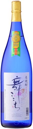 [麦焼酎]★送料無料★6本セット 25度 舞ここちブルーボトル 1.8L瓶 6本 (1800ml)光武酒造場