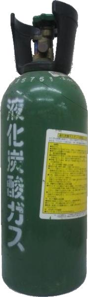 ★送料無料★※1個で1梱包☆アサヒ 樽生ビール専用炭酸ガス 5kg 1個 (5キログラム)(ガスボンベ・ミドボン・タンサンガス)