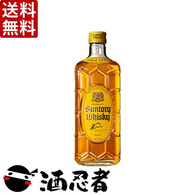【送料無料】サントリー 角瓶 40度 700ml×12本(1ケース)