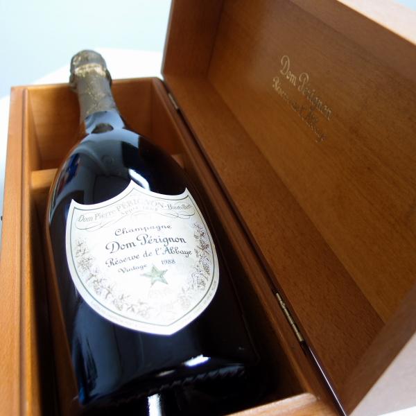 【1988】 ドン ペリニヨン レゼルブ・ド・ラベイ 【木箱入り】【ドンペリ ゴールド】【 正規品】Dom Perignon Reserve de L'Abbaye 【1988】【冊子無し】
