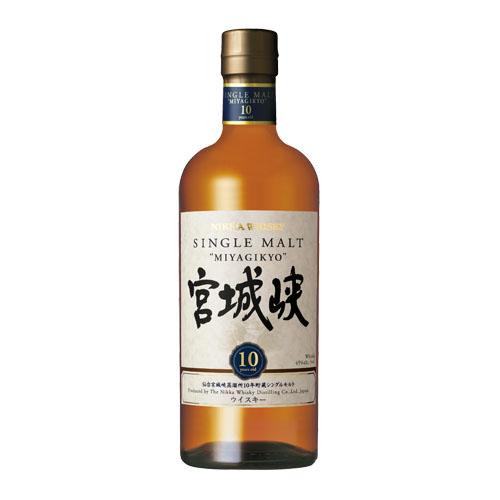シングルモルト 宮城峡10年 45度 700mlnikkamaltwhisky仙台宮城峡蒸留所シングルモルト【箱無し】