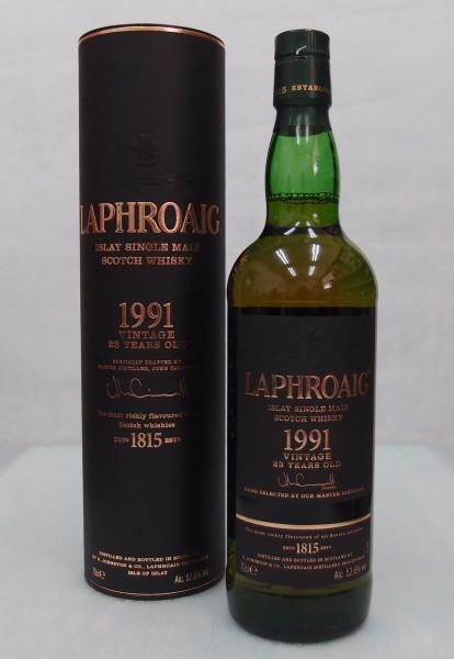 ラフロイグ【1991】23年52.6%700mlLAPHROAIG 1991 23Y