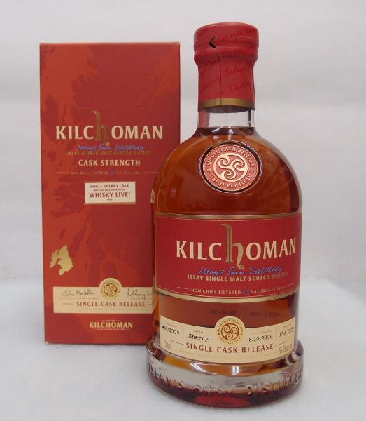 キルホーマン2009オロロソシェリーバットfor WHISKY LIVE2015 59.5%700ml