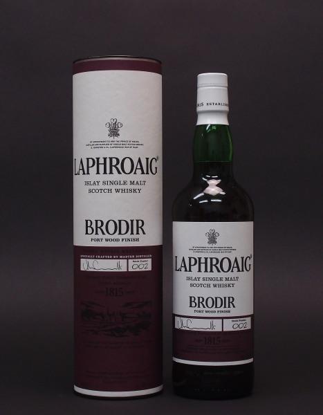 ラフロイグ BRODIR ポートウッドフィニッシュ48%700mlBatch Number 002