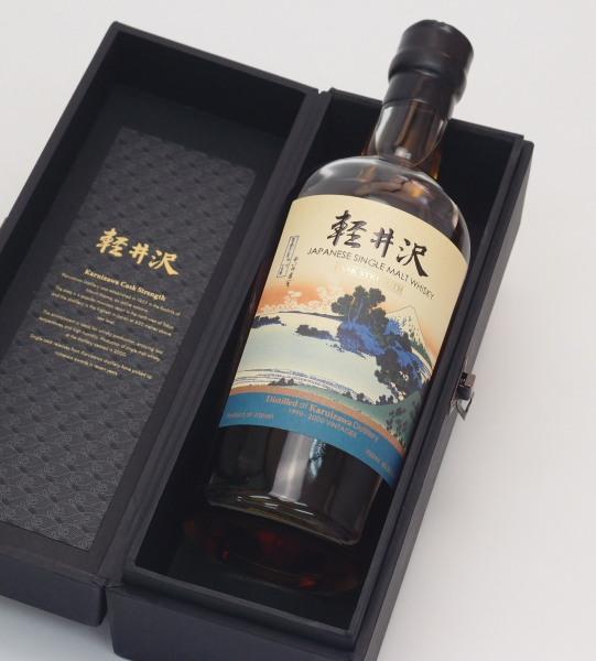 軽井沢1999-2000カスクストレングス【冨嶽三十六景 相州 七里濱】【台湾向け】60.5度700mlJapanese Single Malt Whisky】