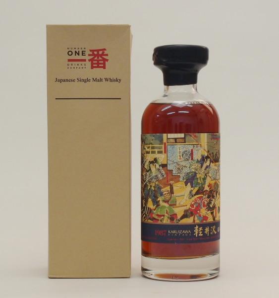 軽井沢【1987-2014】#2031 58.4%700ml【香港向け】Japanese Single Cask Malt Whisky【クレジット決済・銀行振り込み決済に対応】【代引き決済不可】