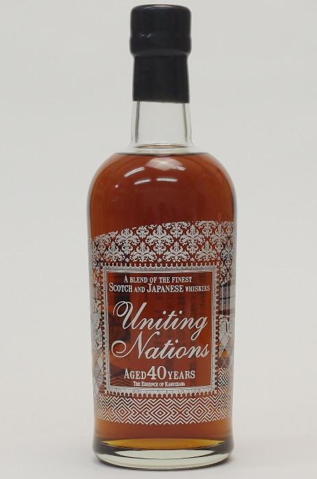 ユナイティング ネイションズ 40年エッセンス・オブ・軽井沢 46.3%700ml【Uniting Nations Blended Whisky 40 years old】