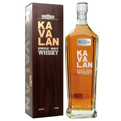 カバラン シングルモルトウイスキークラッシク40%700ml【KAVALAN Single malt whisky】