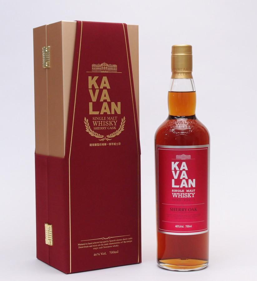 カバラン シェリーオーク46%700ml【KAVALAN Single malt whisky】