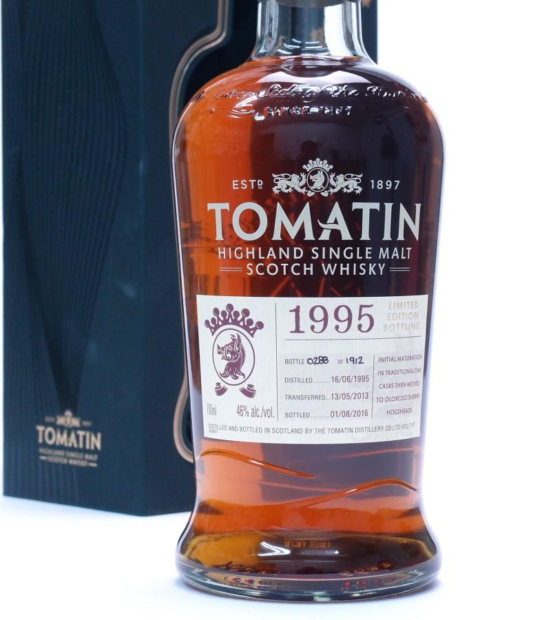 トマーティン1995オロロソ・フィニッシュ46%700mlTomatin 1995 Limited Release Oloroso Sherry