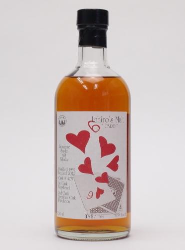 イチローズモルト  シックス・オブ・ハーツ57度700mlIchiro's Malt CARD Six of Hearts【銀行振り込み決済・クレジット決済に対応】【代引き決済不可】