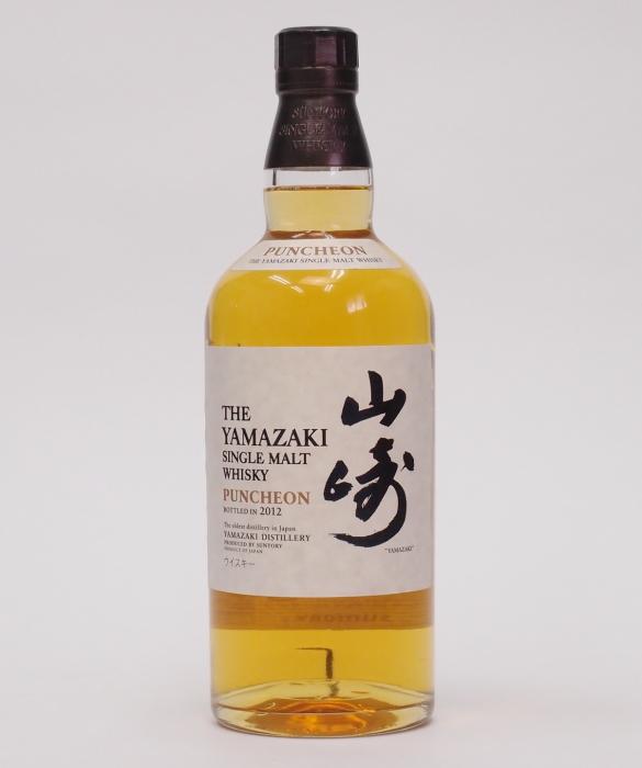 シングルモルト山崎 パンチョン【2012】【箱無し】48度 700ml【 THE YAMAZAKI SINGLE MALT WHISKY】