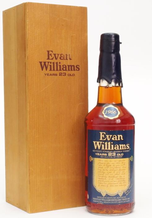 エヴァンウィリアムズ23年【1966】53.5%750ml【旧ボトル】