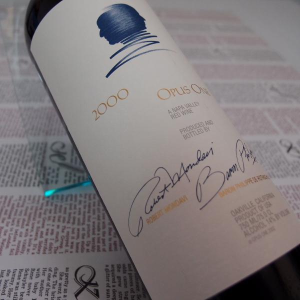 オーパス・ワン 750ml  【2000】  Opus One 750ml