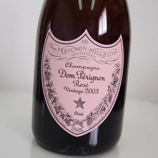 ドン・ペリニョン ロゼ 【ヴィンテージ2003】750ml【正規品】 【箱なし】Dom Perignon Rose Vintabe2003