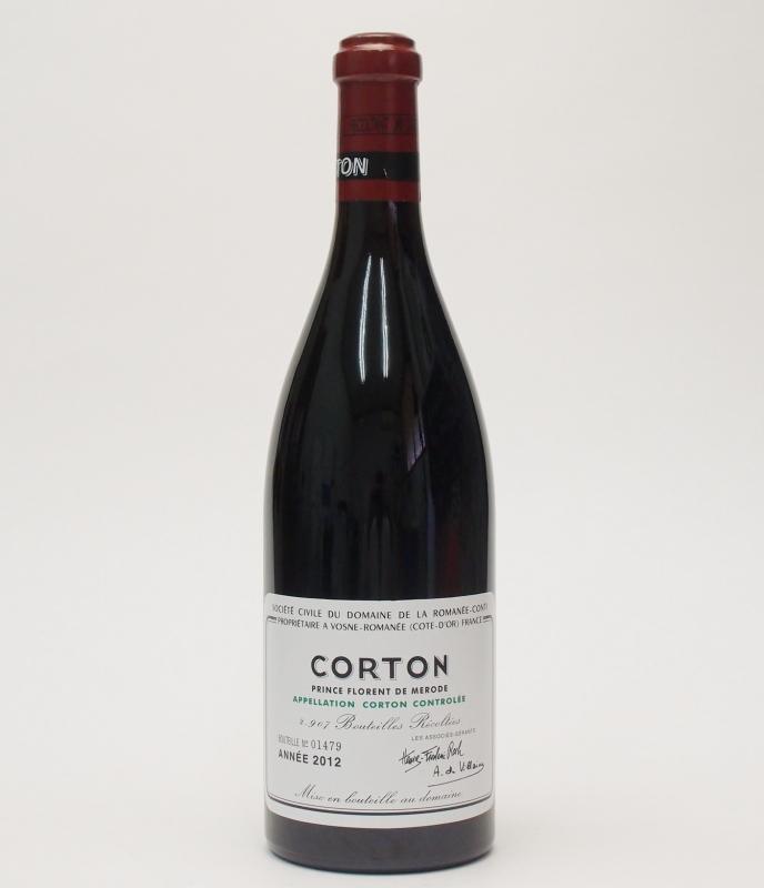DRC コルトン【2012】 750ml CortonDomaine de la Romanee Contiドメーヌ・ド・ラ・ロマネ・コンティ