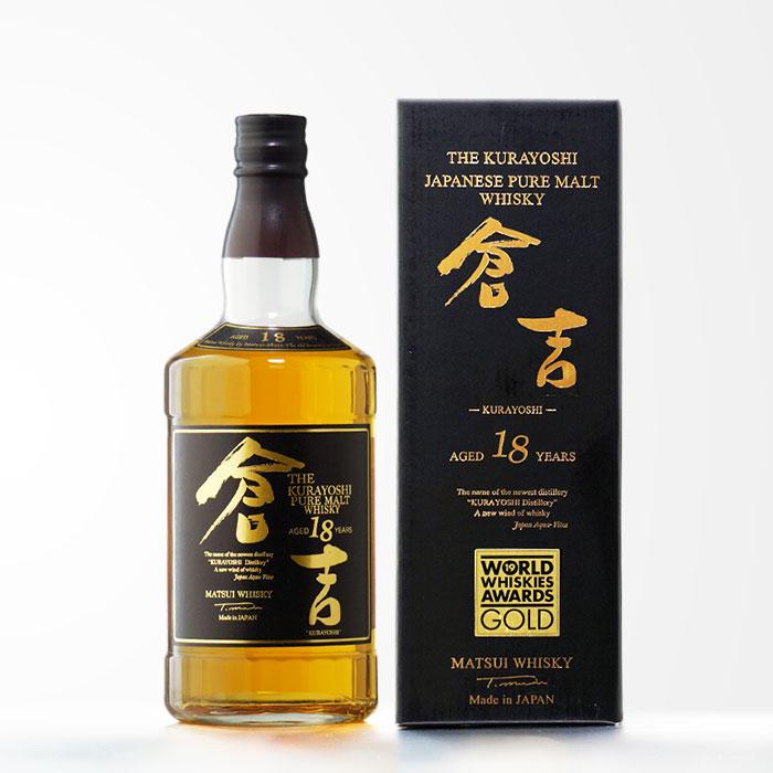 【国産ウイスキー】 マツイ ピュアモルト ウイスキー 倉吉 18年 松井酒造合名会社 50度 700ml