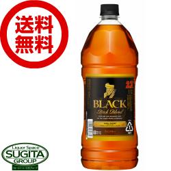 【送料無料】ブラックニッカ リッチブレンド 2.7L【6本・1ケース】