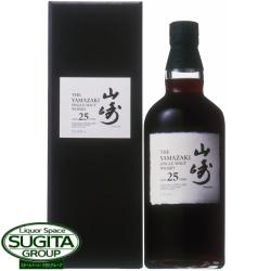 【超限定】サントリー シングルモルト山崎25年700ml(化粧箱入り)希少国産ウイスキー