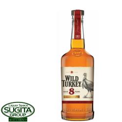 バーボン アメリカンウイスキー ワイルドターキー8年 700ml