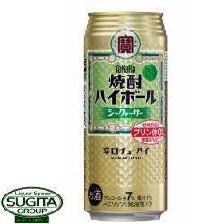 宝 焼酎ハイボールシークァーサー【500ml缶・ケース】