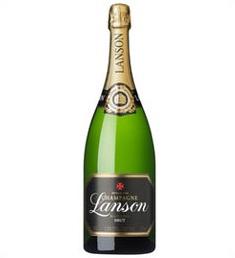 【取寄商品】ランソン・ブラックラベル・ブリュット 1500ml瓶 フランス 白スパークリングワイン ランソン社 箱無し
