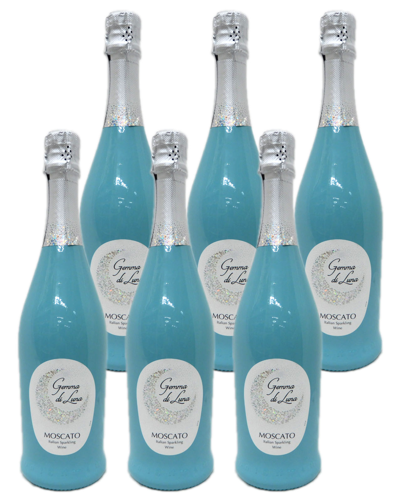 女性の感情が高ぶるカラー をボトルの色に反映 金賞受賞 ジェンマ ディ ルナ モスカート スプマンテ 7.5% 6本セット 送料無料 公式 東北 限定タイムセール 白泡 ※ 沖縄以外 750ml 北海道