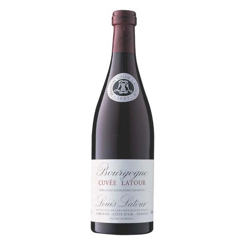 【赤ワイン】フランス キュヴェ・ラトゥール・ルージュ 750ml×12本【ミディアムボディ】【ACブルゴーニュ】【ブルゴーニュ】
