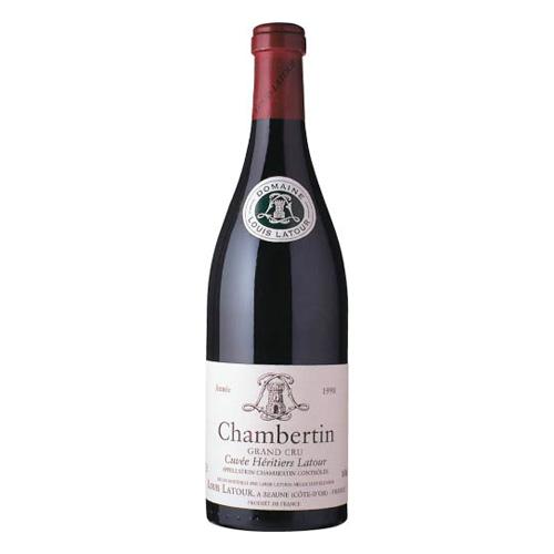 【赤ワイン】フランス シャンベルタン・キュヴェ・エリティエ・ラトゥール 750ml×12本【フルボディ】【ルイ・ラトゥール】【数量限定】