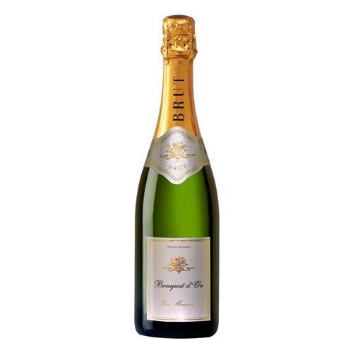 【白ワイン】フランス ブーケ・ドール・ブラン 750ml×12本【辛口】【スパークリング】【レミー・パニエ】
