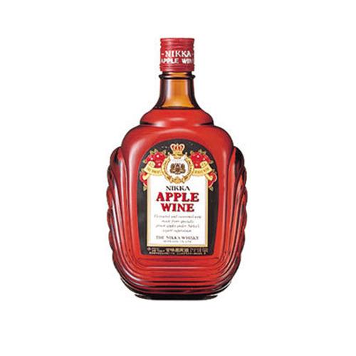 【赤ワイン】国産 ニッカ アップルワイン 720ml×12本【極甘口】【甘味果実酒】【リンゴブランデー】
