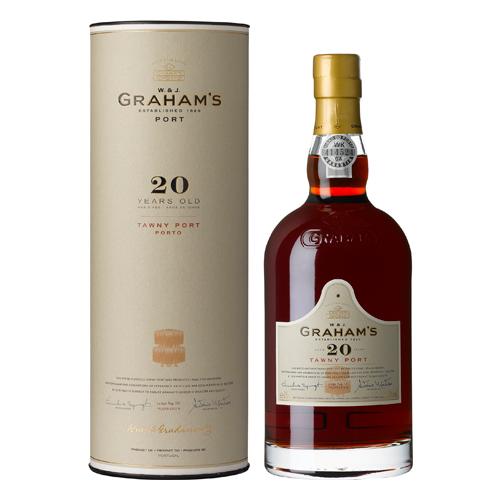 【ポートワイン】ポルトガル グラハム・トゥニー 20年 750ml×6本【グラハム】【ギフト箱入り】【甘味果実酒】