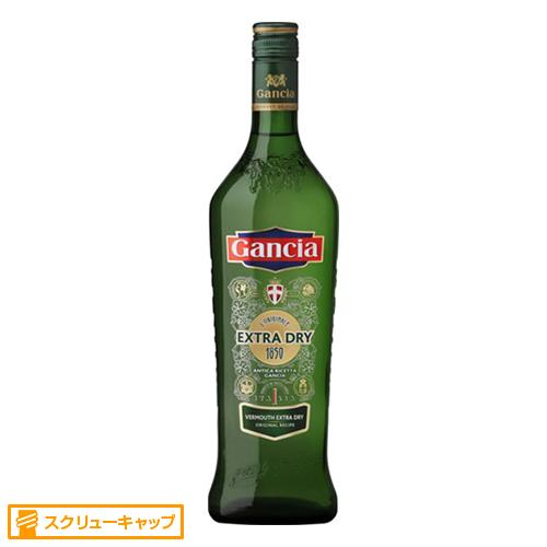 【ヴェルモット】イタリア ガンチア・ヴェルモット・ドライ 1000ml×6本【辛口】【ガンチア】【甘味果実酒】