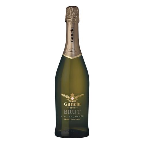 【白ワイン】イタリア ガンチア・ブリュット・スプマンテ 750ml×12本【辛口】【スパークリング】【ガンチア】