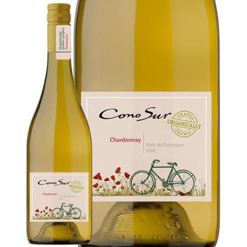 BCSエコ認定の有機栽培葡萄使用 チリ産ワイン代表のオーガニックシリーズ コノスル オーガニック シャルドネ N 激安価格と即納で通信販売 白ワイン チリ 750ml 格安