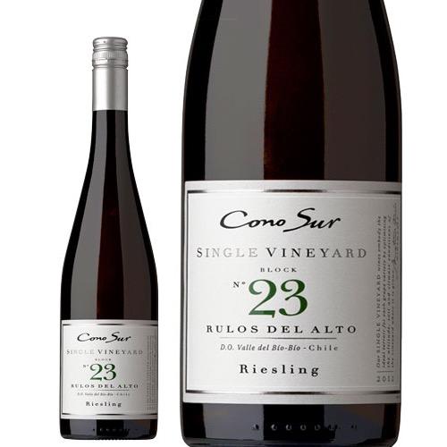 品種ごとの個性を最も引き出す区画で栽培したシリーズ! コノスル シングルヴィンヤード リースリング  2018 チリ 白ワイン 750ml [N]