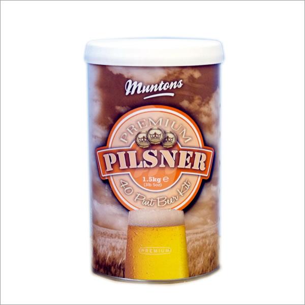 Muntons 格安激安 サービス Premium Pilsner ピルスナー 1500g