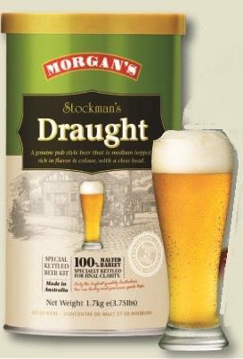 新発売 Morgans ストックマンズ ドラフト 1700g 商品追加値下げ在庫復活