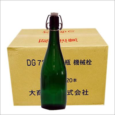 【グリーン ケース】アンカートップボトル機械瓶 20本入り